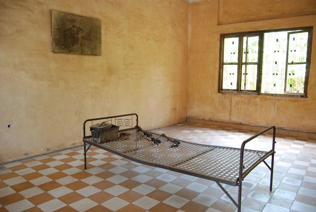 トゥールスレンのベッド