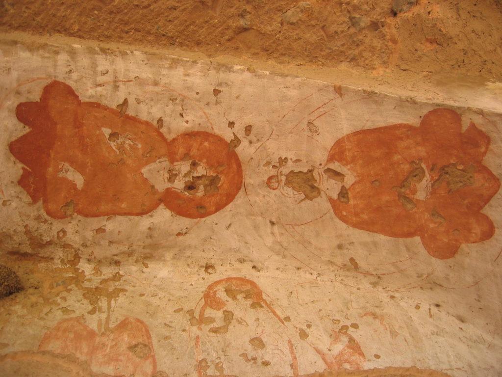 バーミヤンの壁画