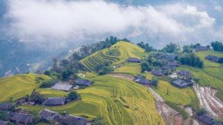 ベトナム北部山岳地帯